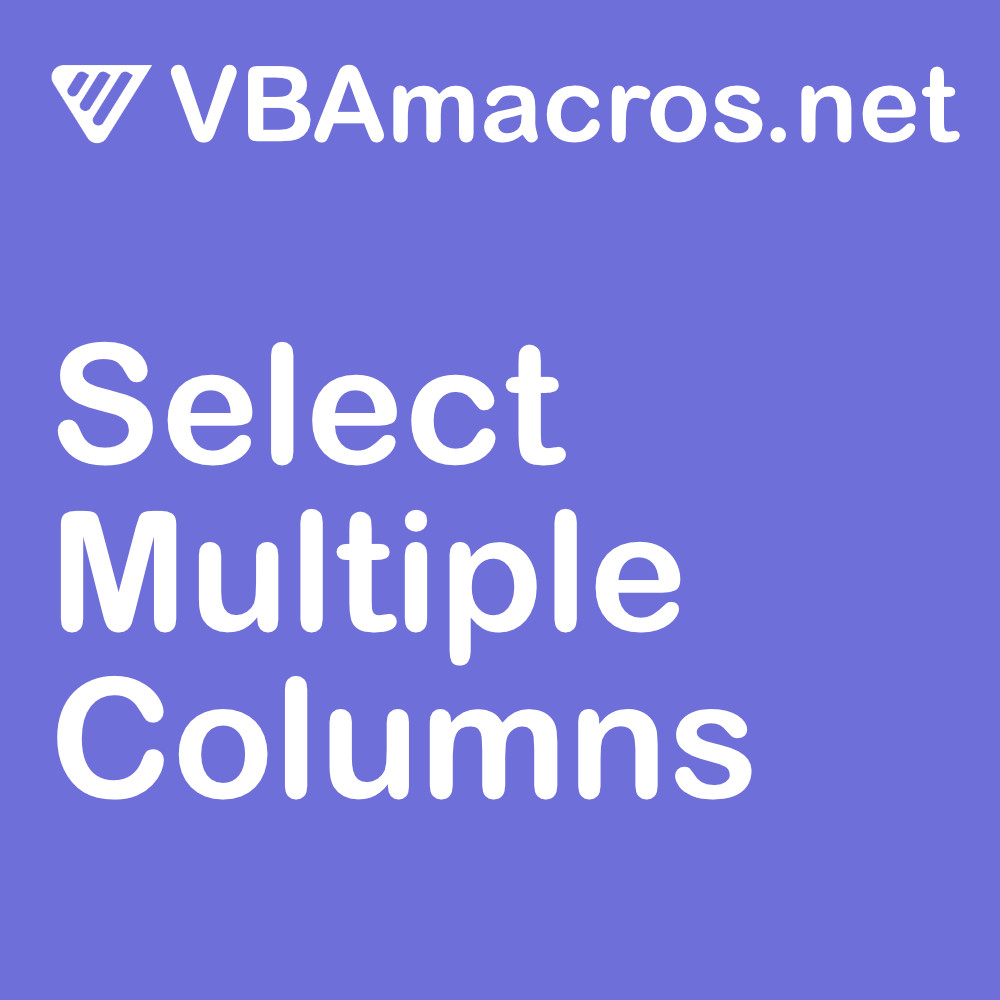 excel-select-multiple-columns