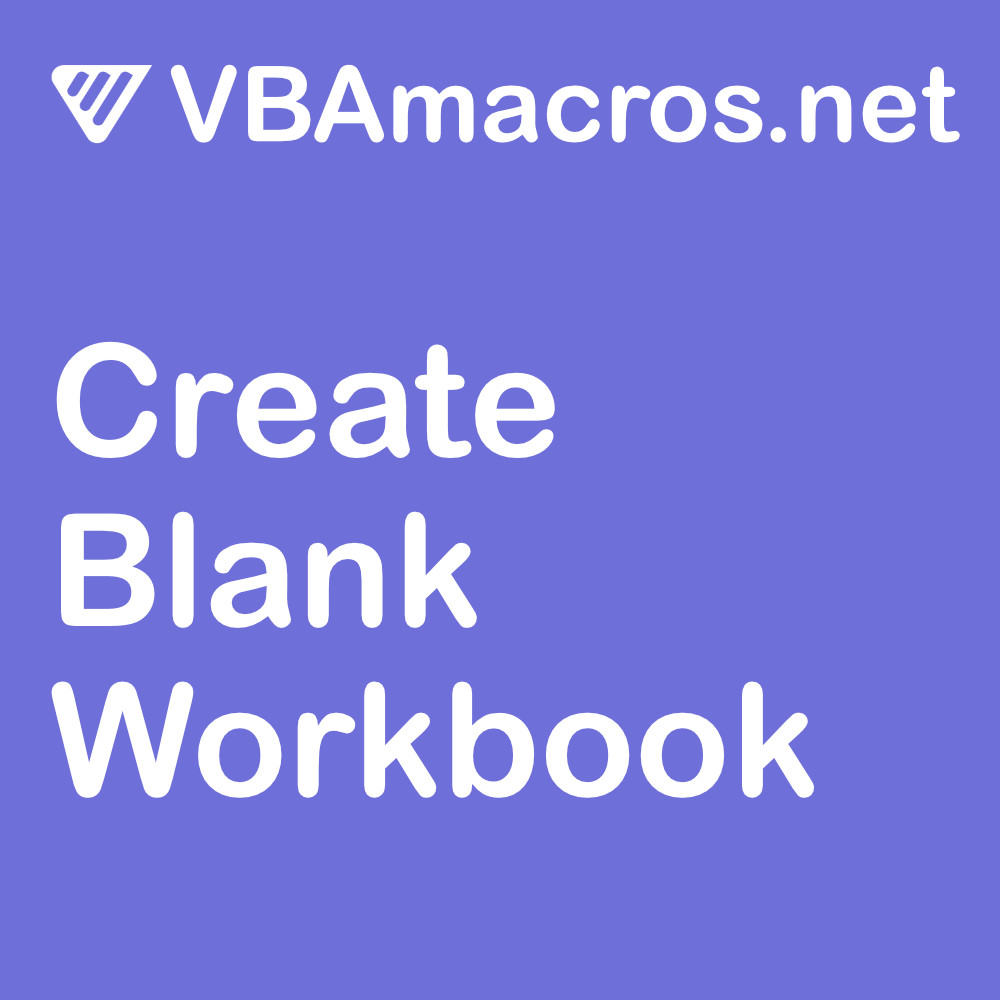 vbscript-create-a-blank-workbook