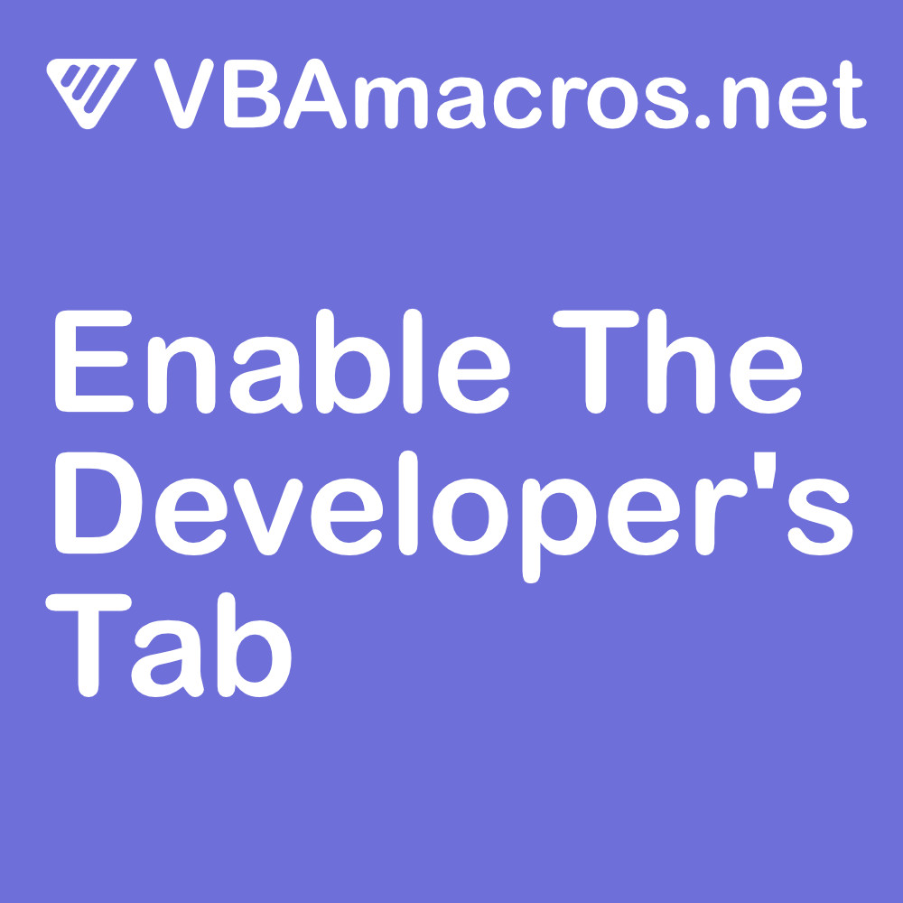 outlook-enable-the-developers-tab
