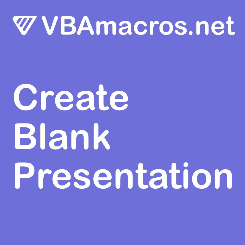 vbscript-create-a-blank-presentation