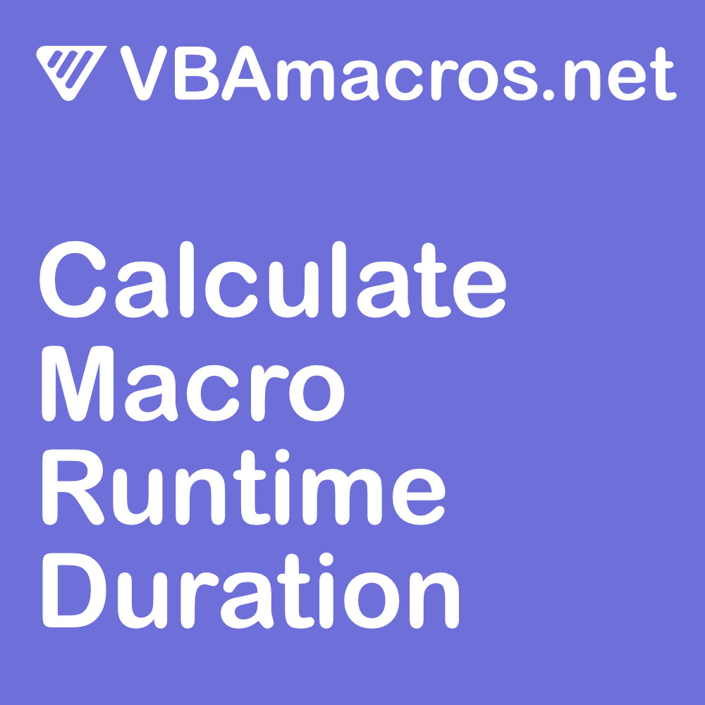 excel-calculate-macro-runtime-duration