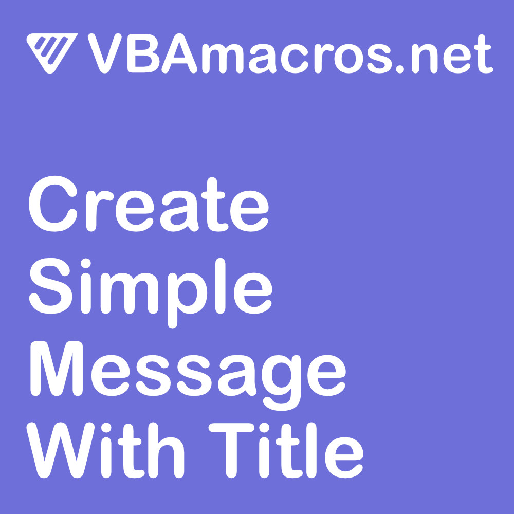 excel-create-simple-message-with-title