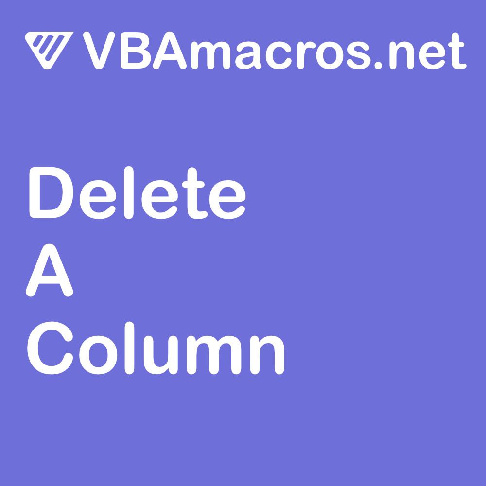 excel-delete-a-column