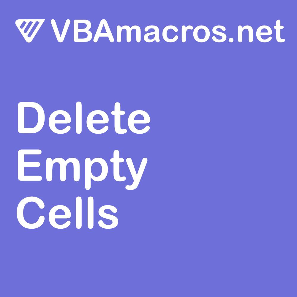 excel-delete-empty-cells