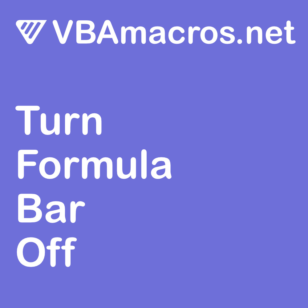 excel-turn-formula-bar-off