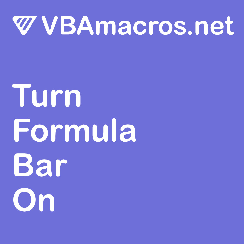 excel-turn-formula-bar-on