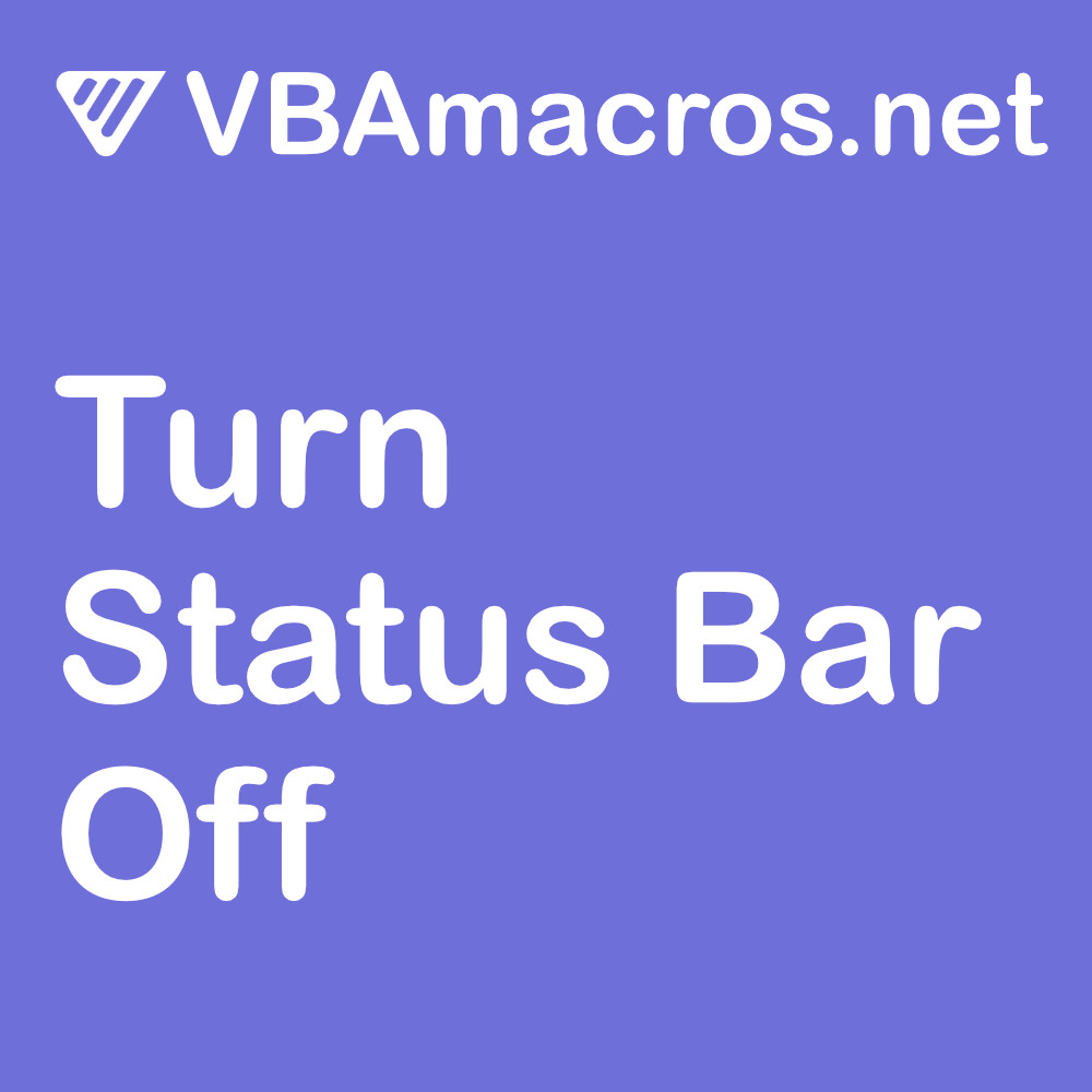 excel-turn-status-bar-off