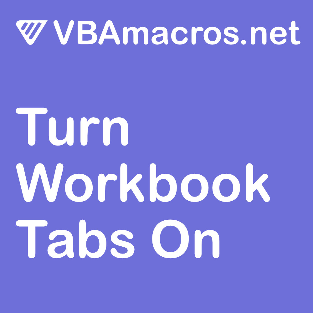 excel-turn-workbook-tabs-on
