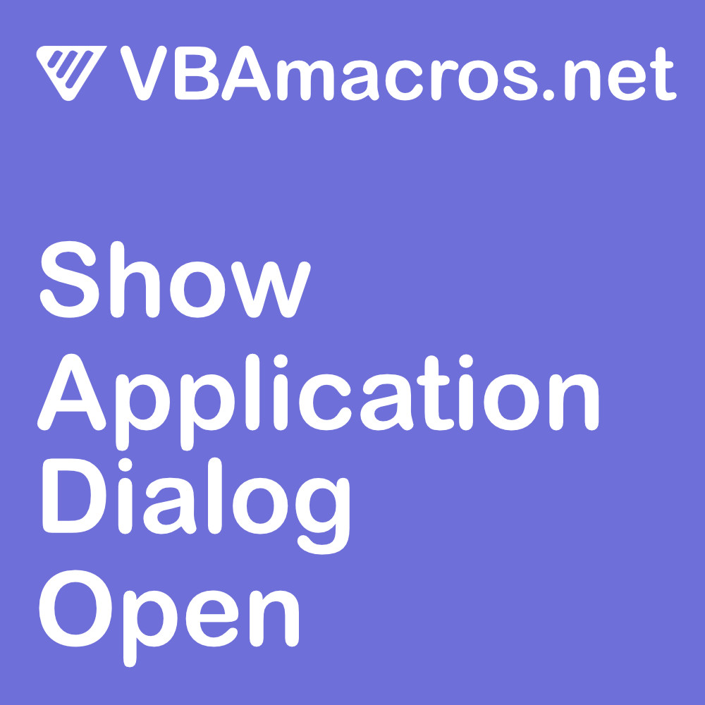 excel-show-application-dialog-open