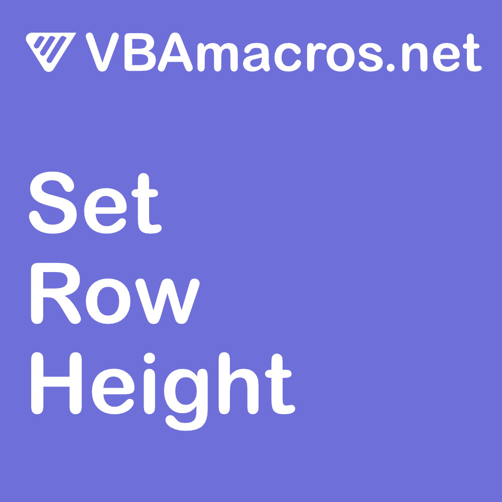 excel-set-row-height