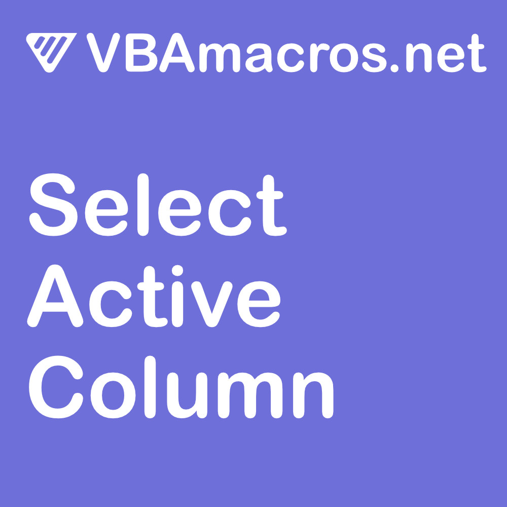 excel-select-active-column