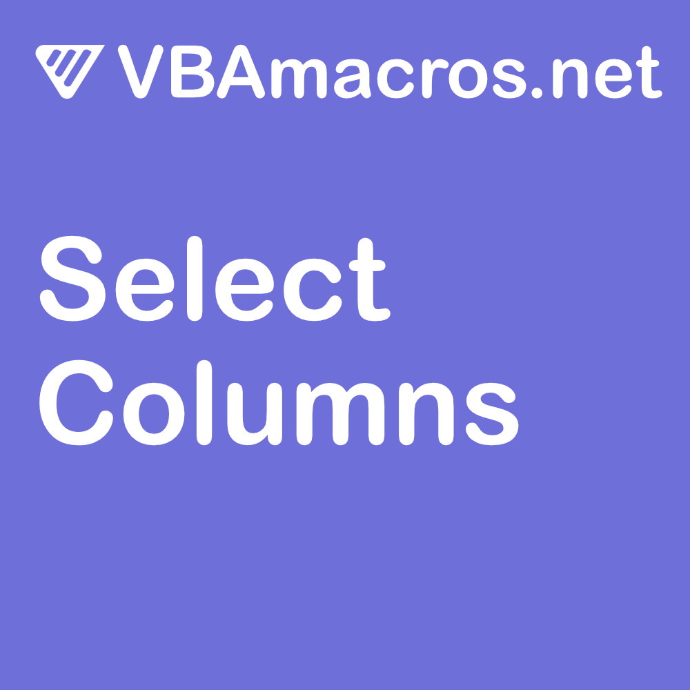 excel-select-columns