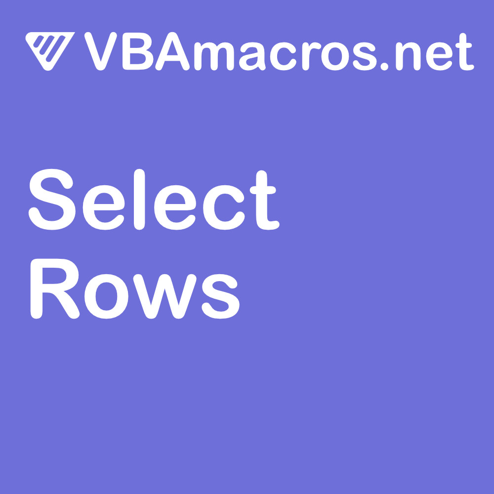 excel-select-rows