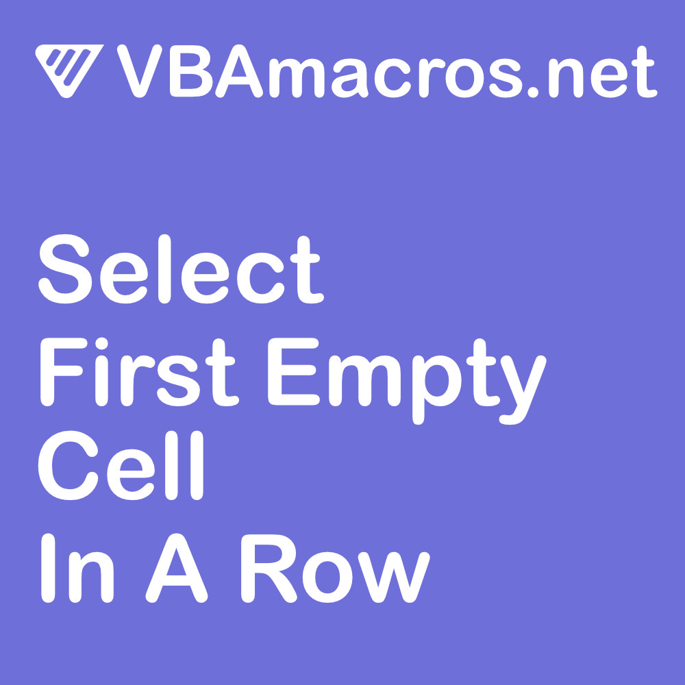 excel-select-first-empty-cell-in-a-row