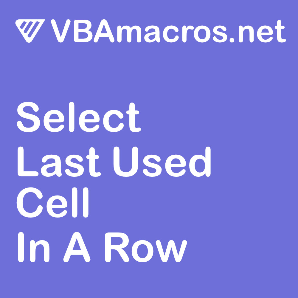 excel-select-last-used-cell-in-a-row