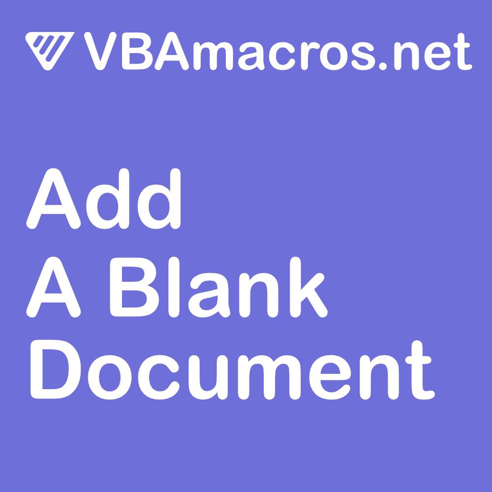 word-add-a-blank-document
