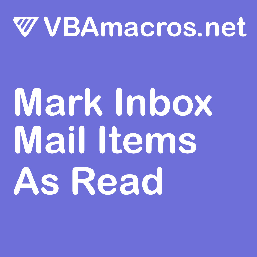 outlook-mark-inbox-mail-items-as-read