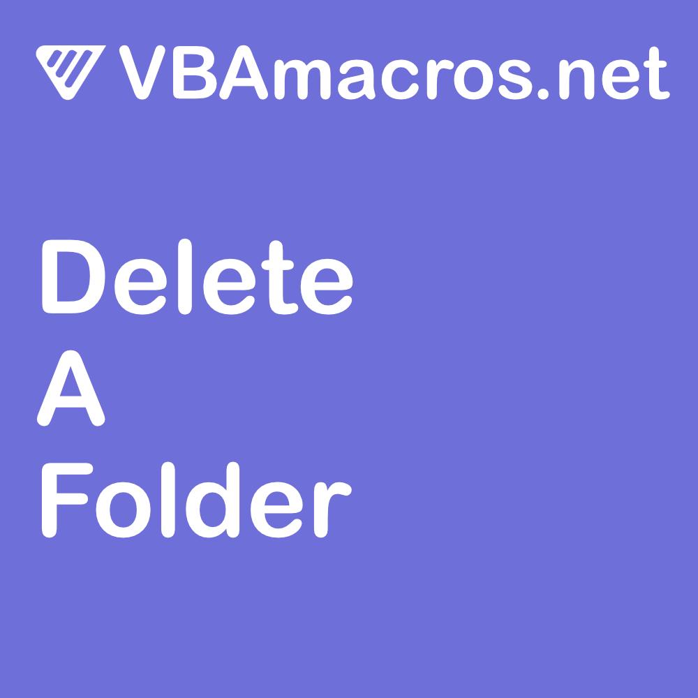 vbscript-delete-a-folder